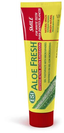 ALOE FRESH Smile pasta z naturalnym z sokiem z aloesu o działaniu wybielającym i rozjaśniającym