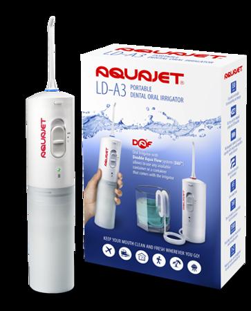 AQuaJet LD-A3 przenośny irygator dentystyczny z systemem DAF