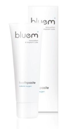 BLUEM Toothpaste - pasta do mycia zębów z aktywnym tlenem na stany zapalne jamy ustnej, 75 ml