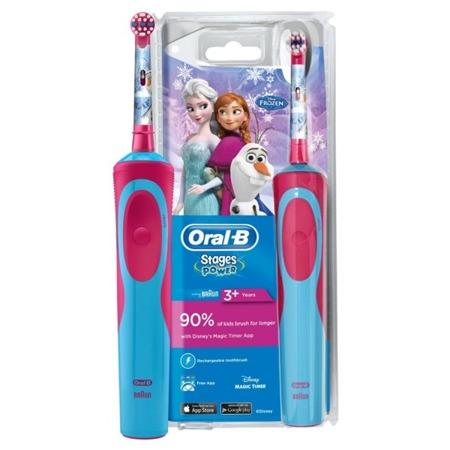 BRAUN ORAL-B Stages Power D12 FROZEN - szczoteczka elektryczna dla dzieci