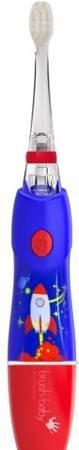 BRUSH-BABY - KIDZSONIC ROCKET szczoteczka elektryczna (soniczna) dla dzieci wieku od 3-6 lat-