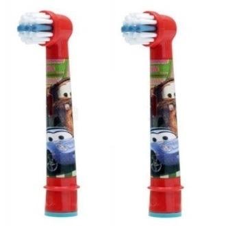 Braun Oral-B Kids Stages Power Auta EB-10 - końcówki wymienne dla dzieci 2 sztuki
