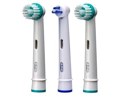 Braun Oral-B ORTHO ESSENTIALS OC 17-3 - końcówki wymienne przy aparatach ortodontycznych 3 sztuki