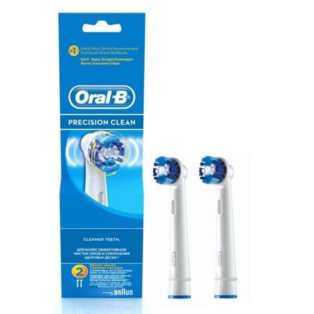 Braun Oral-B Precision Clean EB 20 - końcówki wymienne do szczoteczek elektrycznych 2 sztuki