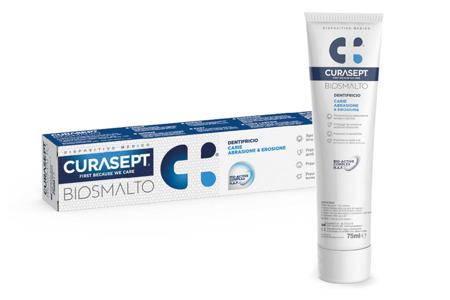 CURASEPT BIOSMALTO PROTECTION PASTA do intensywnej profilaktyki szkliwa zębów, 75 ml