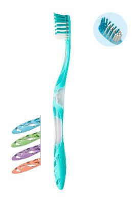 ELGYDIUM Anti-plaque- szczoteczka do mycia zębów przeciw płytce nazębnej, medium