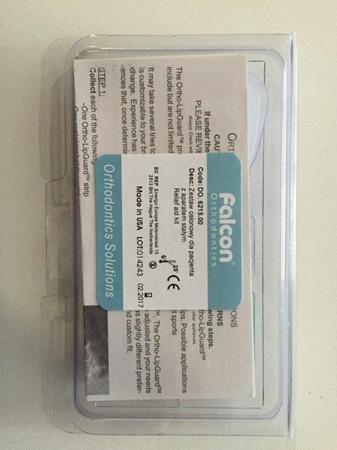 FALCON zestaw osłonowy dla pacjenta z aparatem stałym