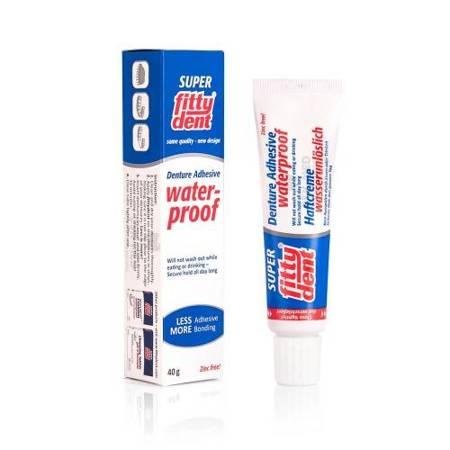 FITTYDENT Denture Adhesive - super mocny, wodoodporny klej do mocowania protez zębowych, 40 g