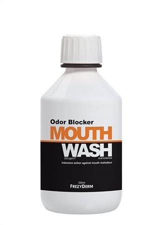FrezyDERM ODOR BLOCKER płyn przeciw nieprzyjemnemu zapachowi z ust (halita), 250 ml