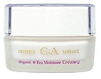 G&A Tea Cosmetics Tea Moisture Cream Q10 - organiczny krem do twarzy ujędrniający i  redukujący zmiany pigmentacyjne skóry, 50 g