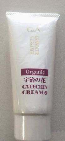 G&A Tea Cosmetics Uji Organic Catechin Cream - organiczny krem na bazie katechiny z zielonej herbaty, 50 g