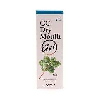GC Dry Mouth Gel - żel nawilżający w suchości jamy ustnej, 35 ml, smak mięta