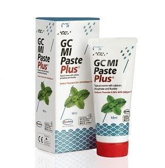 GC MI Paste - płynne szkliwo z fluorem, odżywka do intensywnej odbudowy szkliwa, smak mięta