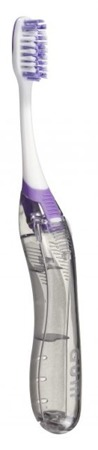 GUM Ortho Brush Travel -  składana szczoteczka do mycia zębów z aparatem ortodontycznym