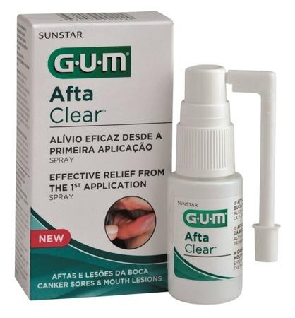 GUM SUNSTAR AftaClear Spray, 15ml