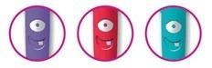 GUM Toothbrush MONSTER Kids- szczoteczka do mycia zębów dla dzieci w wieku 3-6 lat z serii Monster Kids