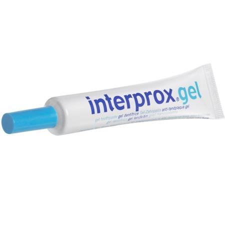 Interprox Gel - pasta do zębów w żelu do stosowania wraz ze szczoteczkami międzyzębowymi
