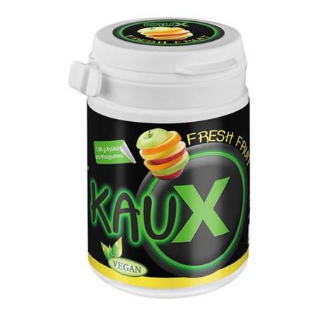 KAUX Xylitol FRESH FRUIT 40 szt -  gum z ksylitolem o smaku świeżych owoców