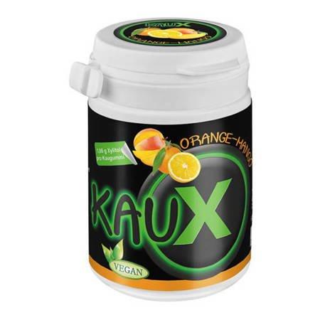 KAUX Xylitol ORANGE-MANGO 40 szt -  gum z ksylitolem o smaku pomarańczy z mango
