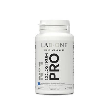 LAB-ONE N°1 Colostrum PRO preparat wspomagający odporność, 60 kaps