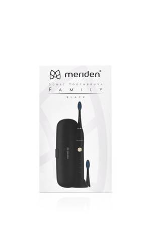 MERIDEN FAMILY BLACK szczoteczka soniczna w kolorze czarnym