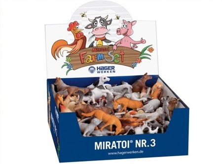 MIRATOI Nr. 3 - Farm set, nagrody dla Dzielnego Pacjenta, 100 sztuk