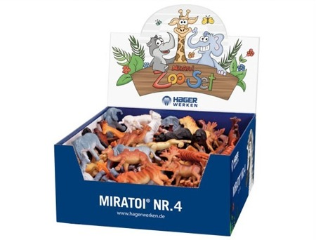 MIRATOI Nr. 4 - ZOO set, nagrody dla Dzielnego Pacjenta, 100 sztuk