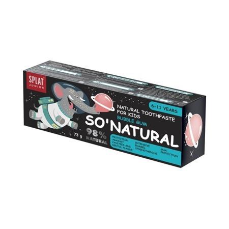 SPLAT KIDS Natural Toothpaste For Kids Bubble Gum- pasta do mycia zębów z hydroksyapatytem 6-11 lat, 55ml, smak gumy do żucia