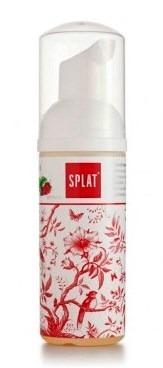 SPLAT ORAL CARE FOAM 2in1  50 ml - oczyszczająca pianka do zębów i dziąseł, malina