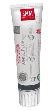 SPLAT Professional WHITE PLUS 100ml - bezpieczne wybielanie i ochrona szkliwa
