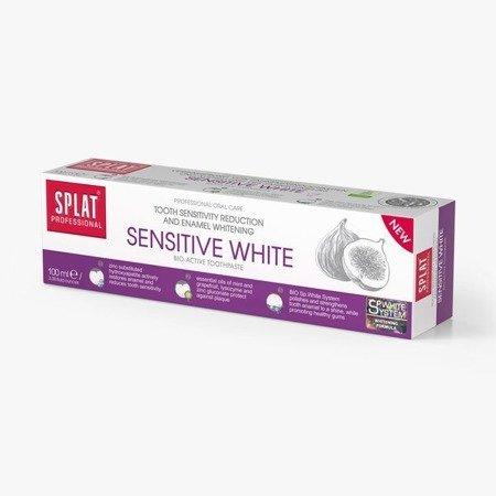 SPLAT Proffesional SENSITIVE White - pasta wybielająca szkliwo do zębów wrażliwych, 100ml