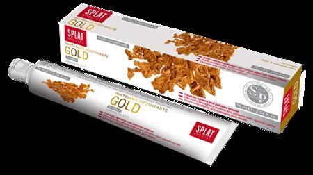 SPLAT Special GOLD 75 ml - luksusowa pasta wybielająca ze złotem do codziennego stosowania