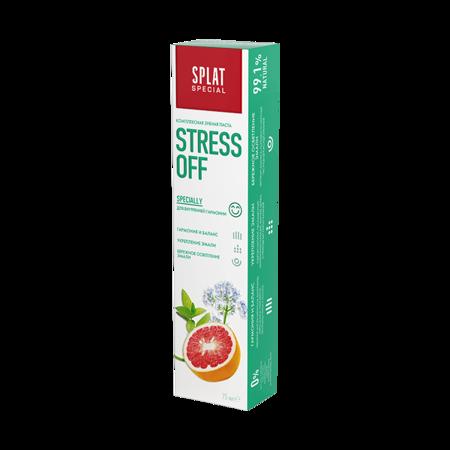 Splat Sepecial STRESS OFF delikatnie wybielająca pasta w wyciągiem granatu i kompozycją ziołową, harmonia i balans, 75 ml