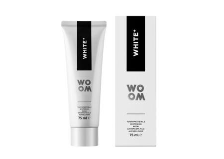 WOOM NR 2 White + ekskluzywna pasta ochronno - wybielająca, 75 ml