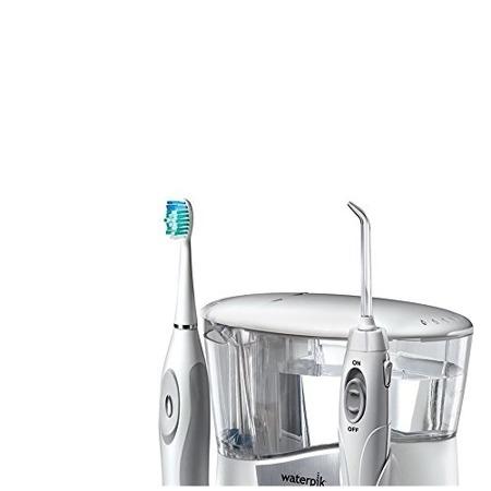 Waterpik WP-950EU - zestaw szczoteczka soniczna SR3000+ irygator dentystyczny + 9 końcówek