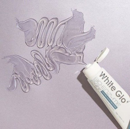 White Glo BIO-ENZYME 24h - pasta wybielająca o działaniu enzymatycznym 100 ml + szczoteczka, wykałaczki  gratis