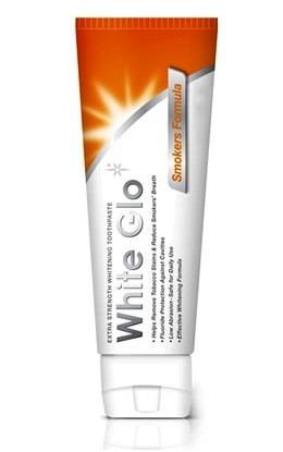White Glo Smoker Formuła - pasta wybielająca usuwająca przebarwienia szkliwa u palaczy , GRATIS szczoteczka do mycia zębów,100 ml